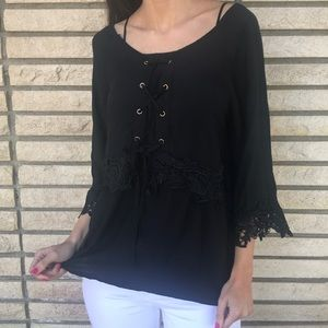 Tops - LAST ONE🌷 Black Lace Top